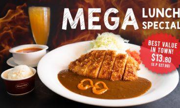 MEGA Lunch Specials